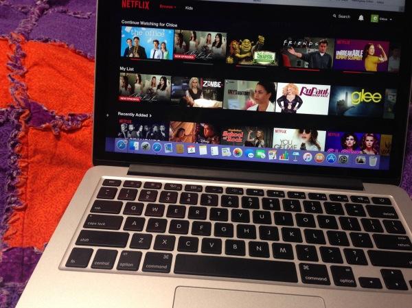 Netflix on Macbook Pro