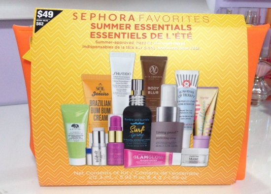 Sephora Favourites Summer Essentials