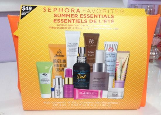 Sephora Favourites Summer Essentials