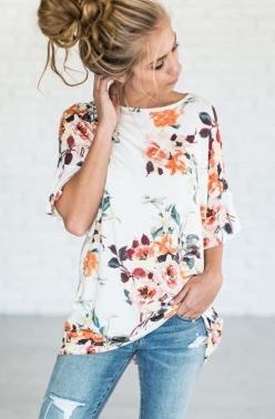 Floral Top | Pinterest