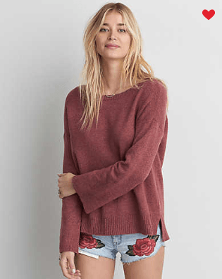 American Eagle - AEO Open Back Sweater