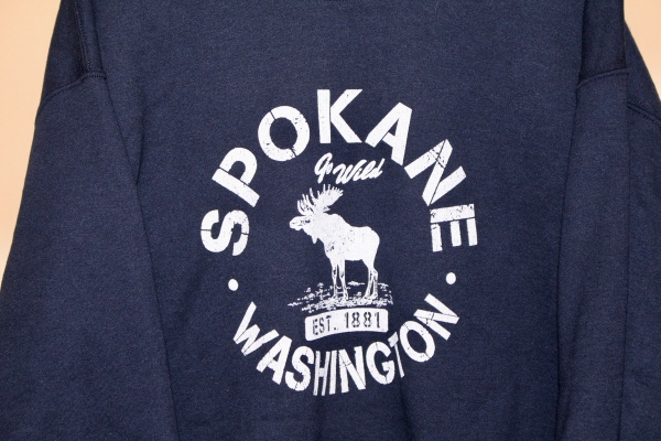 Made in Washington - Navy Sweatshirt