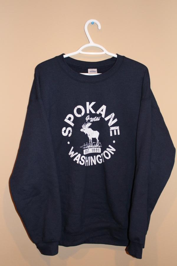Made in Washington - Navy Sweatshirt