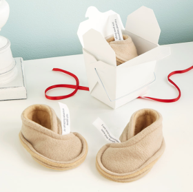 Fortune Cookie Booties - Uncommon Goods