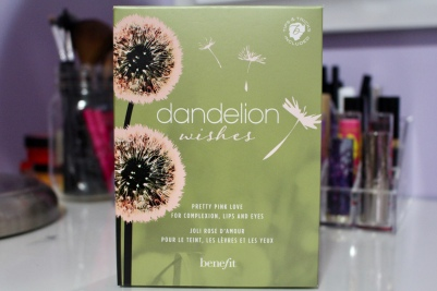 Benefit Cosmetics Dandelion Wishes Baby-Pink Makeup Set
