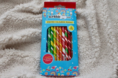 Love Hayley Beth's Giveaway Prize | Scribble Shop Scented Colouring Pencils 12 pack