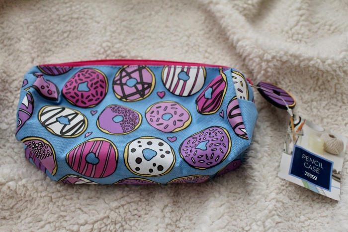 Love Hayley Beth's Giveaway Prize | Tesco Donut Pencil Case