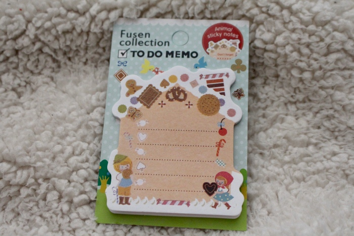 Love Hayley Beth's Giveaway Prize | Fusen collection to do memo sticky notes