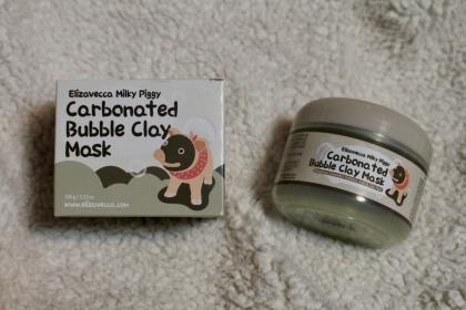 Carbonated Bubble Clay Mask | Elizavecca Milkypiggy | Chloe Plus Coffee