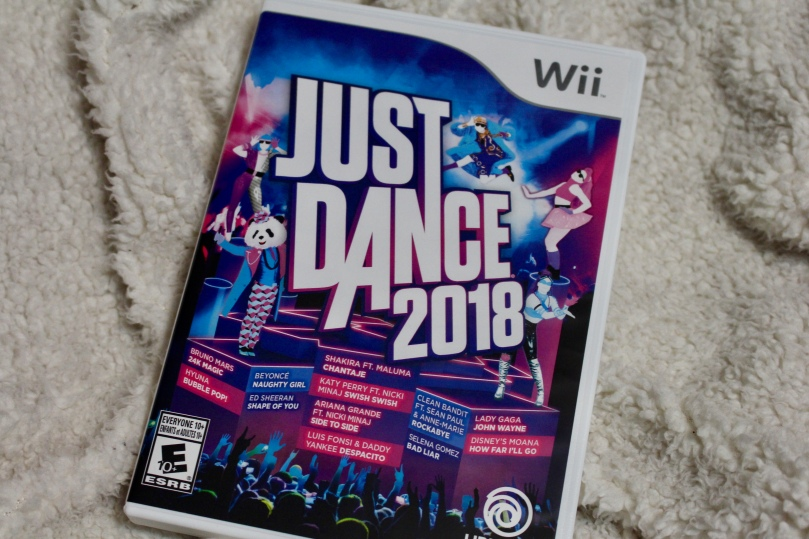 Just Dance 2018 Wii | Chloe Plus Coffee
