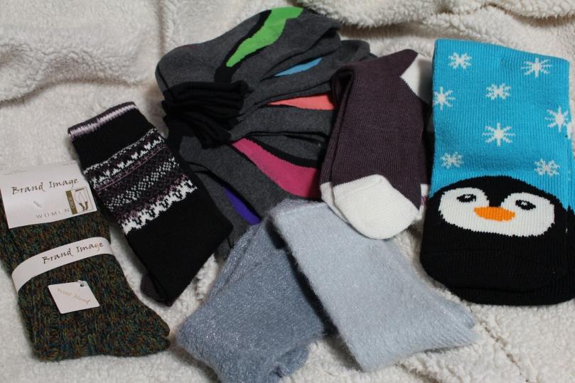 Socks | Christmas | Chloe Plus Coffee