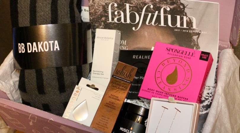 FabFitFun Editor's Box 2018 | Photo by Chloe Plus Coffee