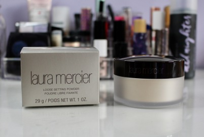 Laura Mercier Loose Setting Powder in Translucent | Sephora Semi-Annual Sale Haul | Chloe Plus Coffee